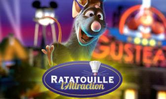 Ratatouille Attraction Disney Parks