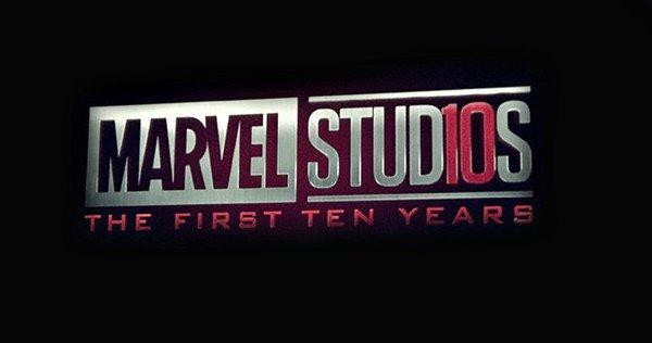 Marvel 10 years logo
