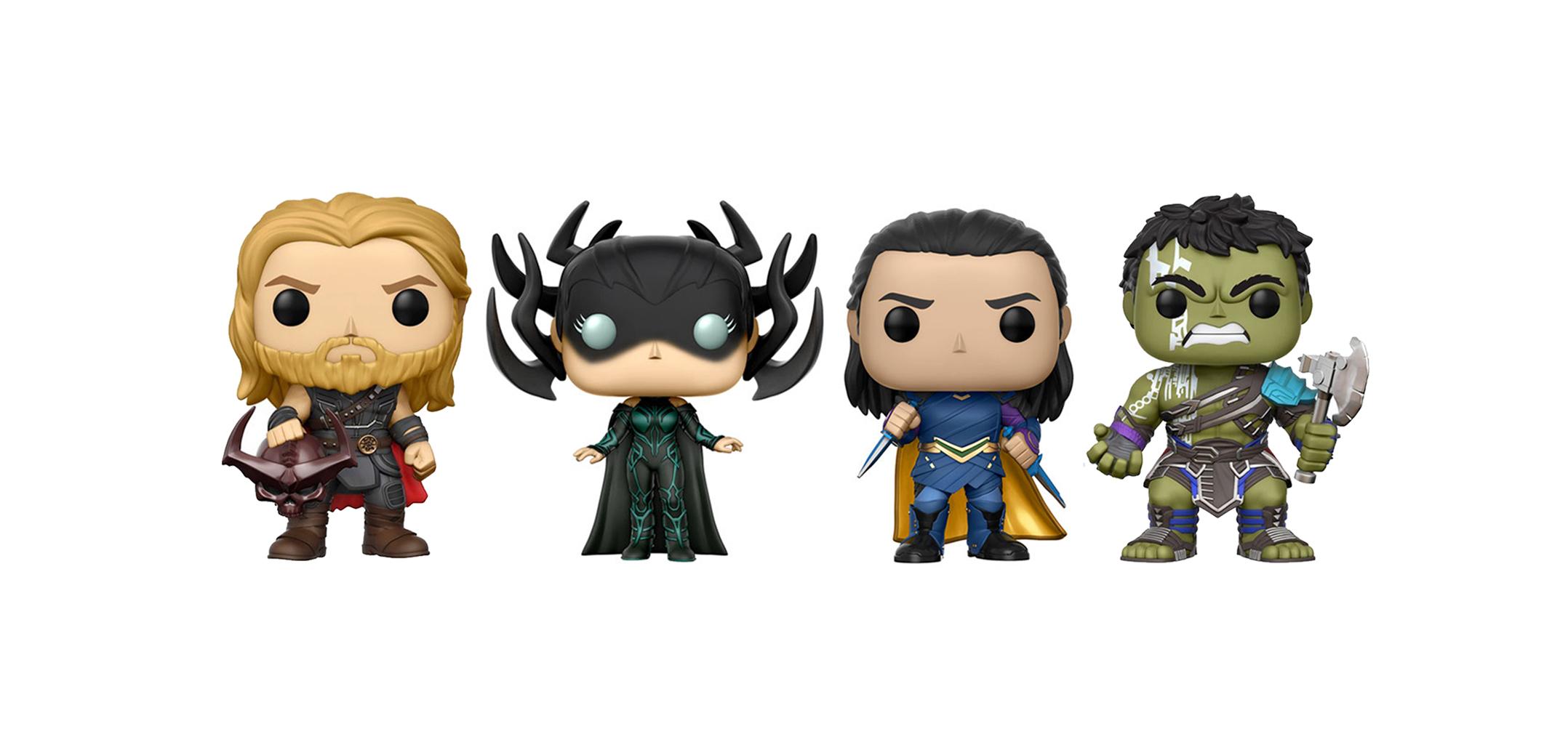 Funko Lanza Figuras Y Exclusivos De Thor Ragnarok Incluyendo Nuevo