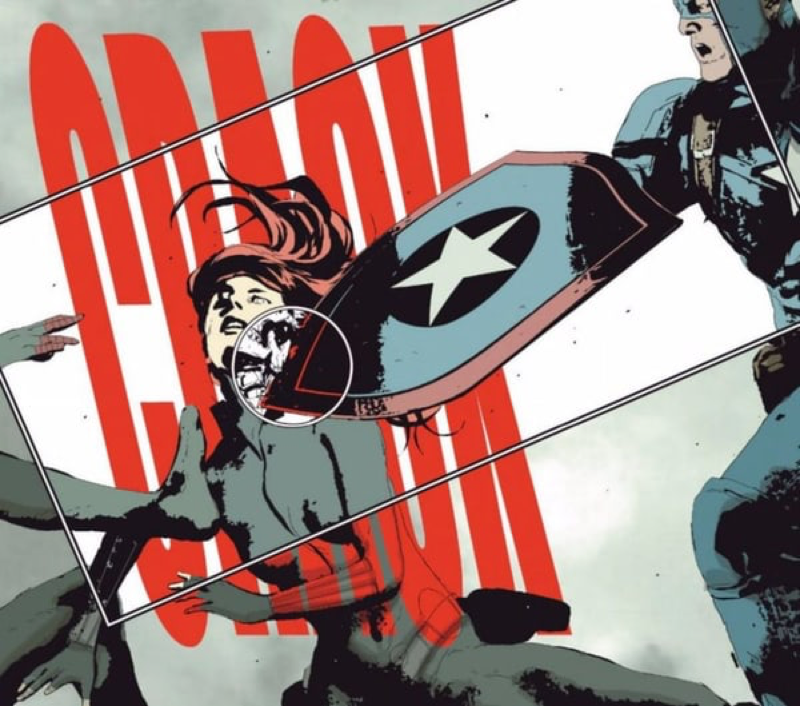 Secret Empire #7 Black Widow