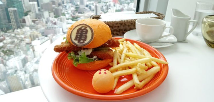 En Japón existen hamburguesas temáticas de Dragon Ball