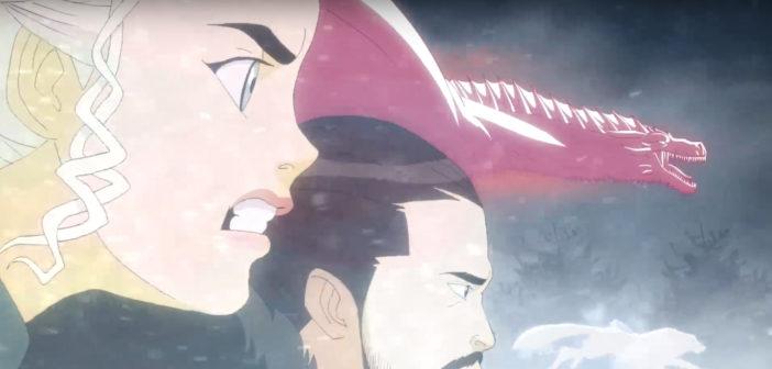 Esta intro de Game of Thrones en Anime esta increíble