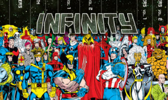 Marvel Comic Infinity Gaunlet Box Set