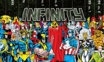 Marvel Comic Infinity Gaunlet Box Set