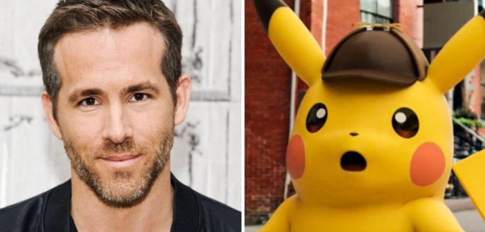 Ryan Reynolds interpretará a Pikachu en el live-action de Detective Pokémon