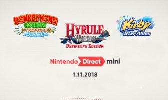 Nintendo Direct 01.11.18