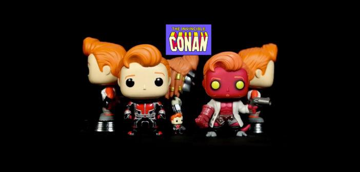 Conan O'Brien revela nuevas figuras pop para Comic-Con